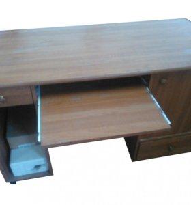 Письменный двух тумбовый стол