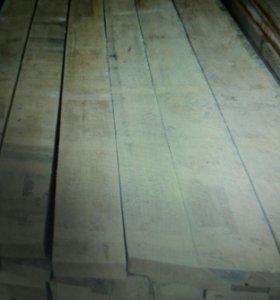 Обрезная, сухая ,дубовая доска 50мм х3м