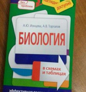 Учебник для подготовки к экзаменам, по биологии