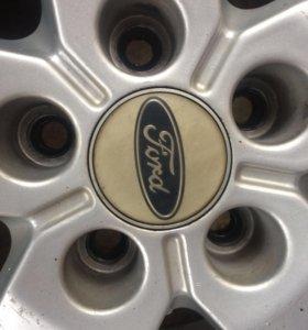 Диски Ford на летней резине Nokian hakka green