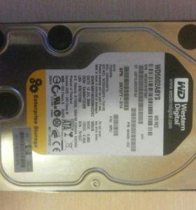 2ЖесткийДискаWestern Digital RE3 500 GB WD5001abys