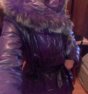 Куртка пуховик,р46-48