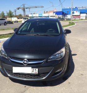 Автомобиль Opel Astra J рестайлинг