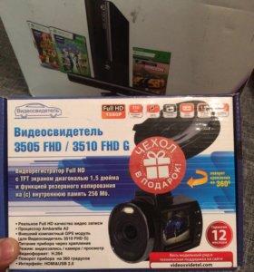 Видеорегистратор новый 3505 FHD/3510FHD G