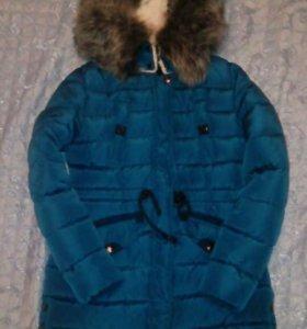 НОВАЯ Куртка парка зимняя
