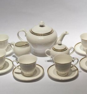 Сервиз чайный Delice костяной фарфор 15 предметов