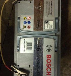 Аккумулятор Bosch agm s6 95ач