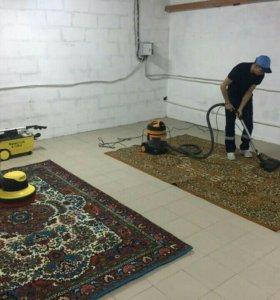 Стирка, химчистка ковров с вывозом и доставкой