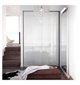 Стеклянные панели Ikea для раздвижных дверей