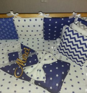 Комплект для малыша в кроватку