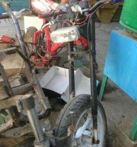 Продам самодельный скутер