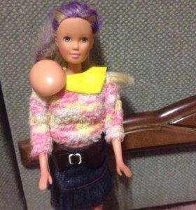 Кукла с животом. Беременная кукла.