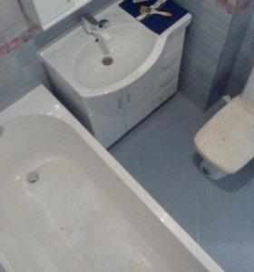 Ремонт отделка квартиры ванной