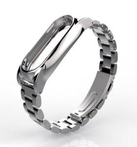 Металлический браслет для Xiaomi mi band 2