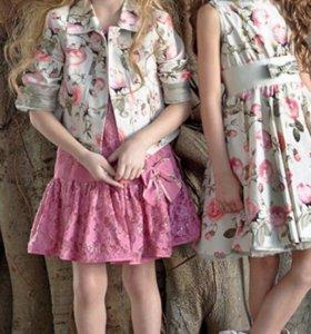 Платье Monnalisa 8-9 лет