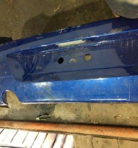 Бампер Рено Логан задний крышка багажника