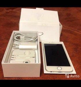Продам айфон 6 silver на 16gb обмен