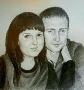 Портреты и шаржи