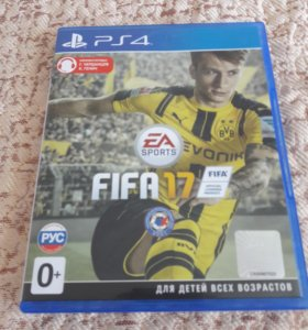 Fifa 17 диск PS4