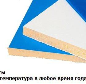 Сэндвич лист для внутренних откосов 10 мм