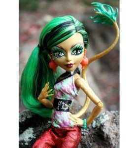 Monster High Doll Jinafire Long New Scaremaster
