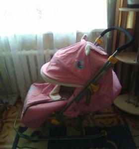 Санки -коляска