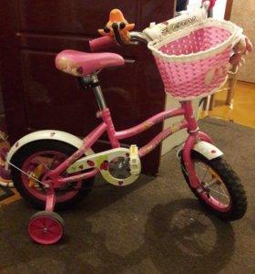 Велосипед сигнал и карзинка в подарок