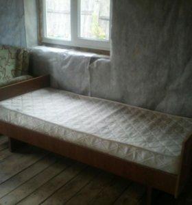 Кровать и кресло кровать