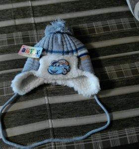 Новая теплая шапка 1 год