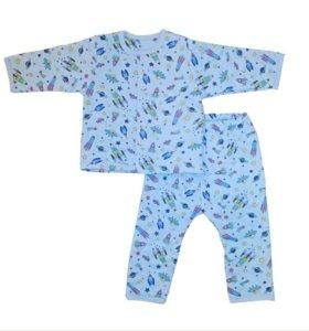 Пижама для мальчика утеплённая