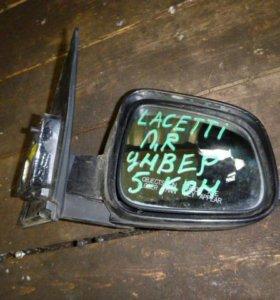 Зеркало правое электрическое для Chevrolet Lacetti