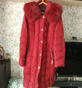 Пальто зимнее. Новое