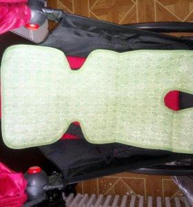 Бамбуковый матрасик в коляску/автокресло