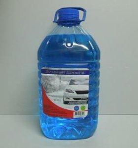 оптом от 20шт Жидкость незамерзающая4л (-30*)