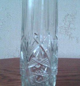 ваза хрусталь