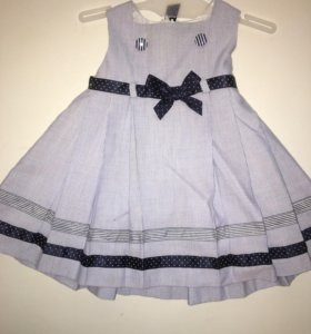 Детское Платье синее