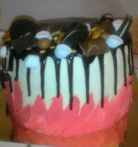 Торты, пряники