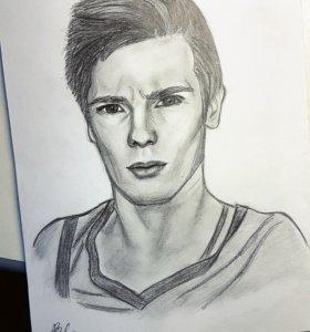 Портрет карандашем