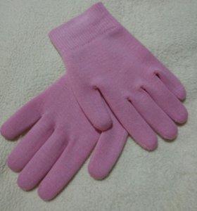 Лечебные перчатки для маникюра.