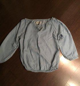 Фирменная джинсовая туника