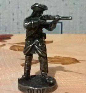 Обмен на оловянного солдатика
