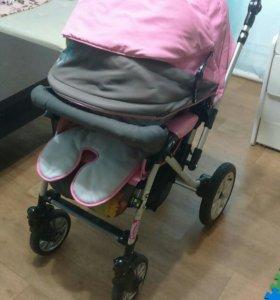 Детская коляска Capella s-803 sw сибирь