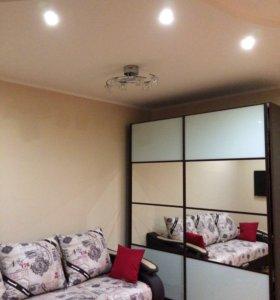 Квартира, 1 комната, 57.1 м²