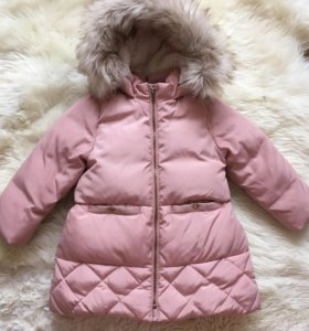Куртка Zara 1,6/2,6 года зимняя на пуху