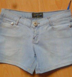2 шорт джинсовых