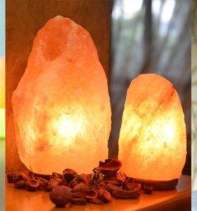 Соленая лампа Скала