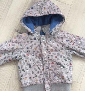 Куртка на мальчика 80-86
