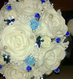 Свадебные и интерьерные цветы из фоамирана