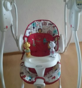 Качели Graco Swing'n'Bounce 2 в 1