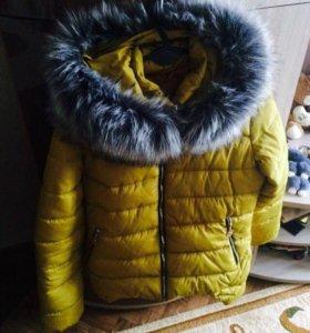 Пуховик осень - зима